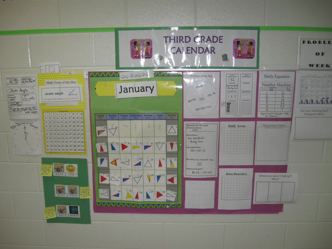 Calendar Activities For Third Grade : Everyday math rd grade worksheets out in left field